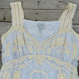 Anthropologie Odille lace top